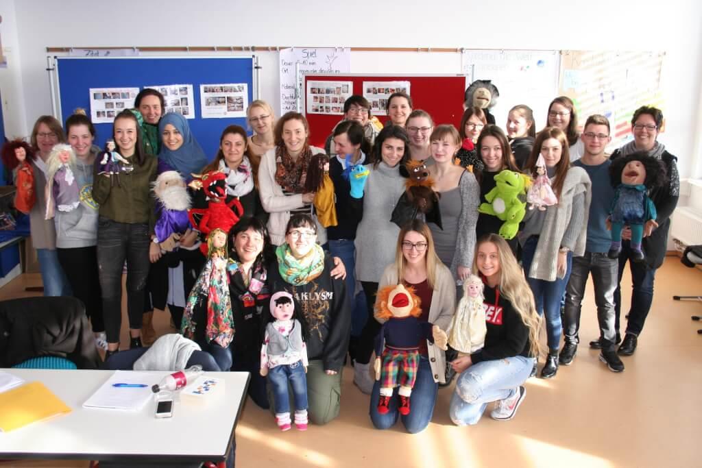 Puppenspiel…eine Liebe für`s Leben