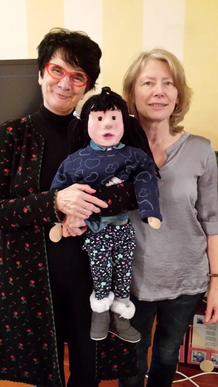 Anna, Christa Thelen und Maria Aarts